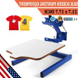 1 Color Screen Printing Equipment Press Kit Machine 1 Statio