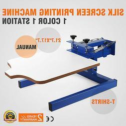 1 Color Screen Printing Equipment Press Kit Machine 1 Statio