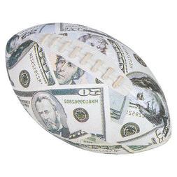"10"" Money Dollar Bill Football Sports Equipment Supplies Col"