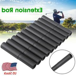 10PCS Golf Clubs Extension Rods Steel Shaft Sport Equipment