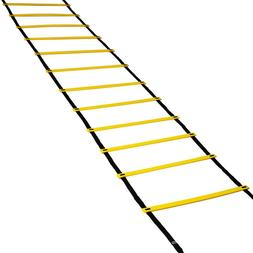 12 Rung Speed Agility Ladder Soccer Sport Ladder Workout Tra