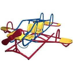 Lifetime 151110 Ace Flyer Airplane Teeter Totter, Primary Co