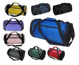 """DALIX 18"""" Round Duffle Bag Flexible Roll Gym Traveling Equip"""