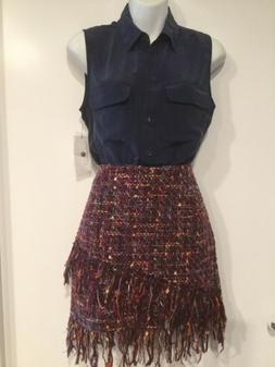 $188 EQUIPMENT NWT Slim Signature Silk Sleeveless Blouse Sz