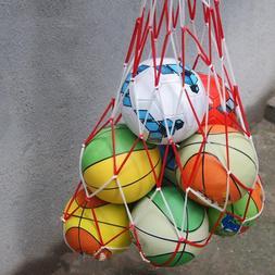 1pcs Outdoor Sporting Soccer Net 10 Balls Carry Net <font><b