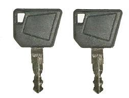 2JCB Heavy Equipment Keys-Fits Many Makes of Equipment-Case-