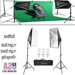 VBESTLIFE 2*Photography Lighting Softbox Kit Photography Stu