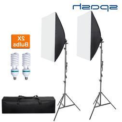 spash 2 Set Softbox 50*70cm Diffuser Light <font><b>Photogra