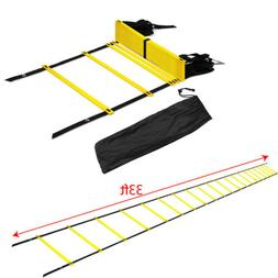 20 Rung Agility Ladder for Soccer Speed Football Fitness Fee