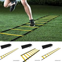 20 Rung Speed Agility Ladder Soccer Football Sports Training