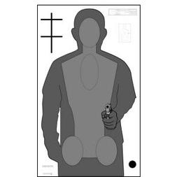 NEW 2010 OPOTA QUALIFICATION TARGET 50 PACK