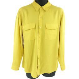 $230 Equipment Femme Signature Shirt Size M
