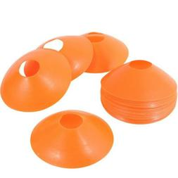 25 Disc Cones Soccer Football Field Training Aids Equipment
