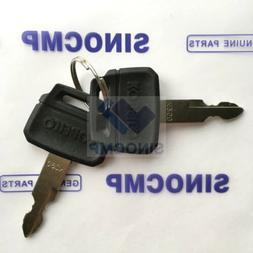 2PCS K250 Ignition Key For Kobelco Heavy Equipment Parts, 2