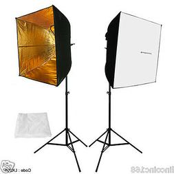 2PCS Lighting Softbox Photography Photo Equipment Soft Studi