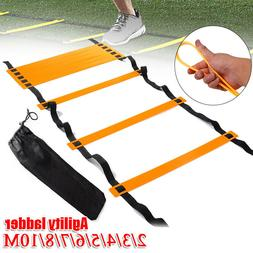 3/6M Rung Agility Speed Ladder Soccer Football Workout Train