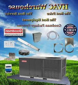 3 Ton 14 seer Goodman Heat Pump Package Unit GPH1436H41 Prog