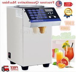 300W 110V Bubble Tea Equipment Fructose Quantitative Machine