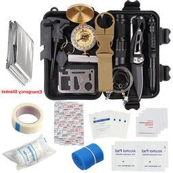 32 in 1 Self-saving Kit Emergency Survival Equipment Outdoor