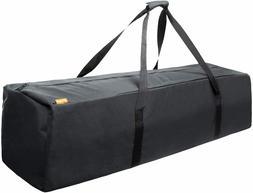 45 Inch Zipper Duffel Travel Sports Equipment Bag, Water Res