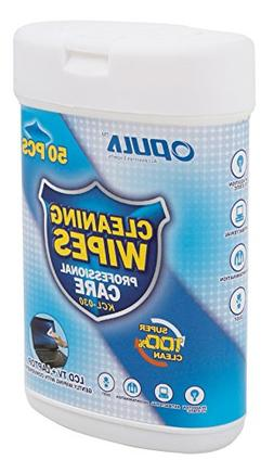 DURAGADGET 50 Anti-Static LCD Cleaning Cloths Suitable for U