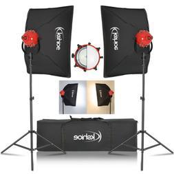 Kshioe 500W Portrait Light Lighting Tent Kit Photography Vid