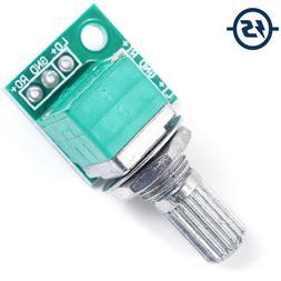 50K Volume Control Knob Potentiometer Audio Accessories Dual