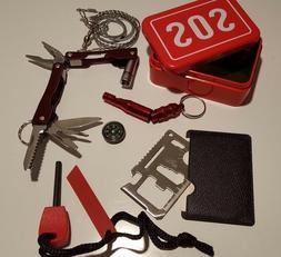 6 PC Kit Emergency Equipment SOS Kit Car Emergency Supplies