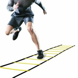 8/12/20 Rung Speed Agility Ladder Soccer Football Sport Trai