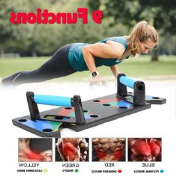 9 in <font><b>1</b></font> Push Up Rack Board Men Women Comp