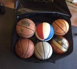 BLACK BASKETBALL EQUIPMENT HEAVY DUTY EXTRA LARGE BAG SPORT/