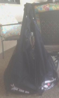 BLACK EQUIPMENT ALL PURPOSE NYLON/MESH BAG BIG BALL BAG SOCC