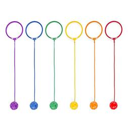 Champion Sports - Swing Ball Set, Plastic, Assorted Colors,