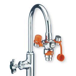 GUARDIAN EQUIPMENT Eyewash w/Diverter,Faucet Mount,4-1/4 W,