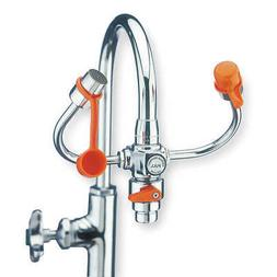 GUARDIAN EQUIPMENT Eyewash w/Diverter,Faucet Mount,6-3/4 W,
