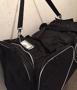 Ice Hockey Bag Black JAMM Sr Large with end & skate pockets