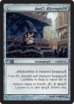 Magic: the Gathering - Whispersilk Cloak - Magic 2011