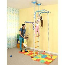 Playground Fitness Equipment Kids Set For Floor Ceiling / Fa