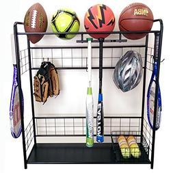 Sports Organizer-Hang bats, store balls, store outdoor shoes