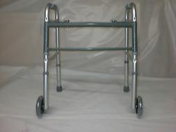 Strategic Medical Equipment 2 Button Folding Walker  Sm-Med.