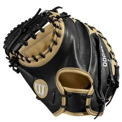 "Wilson A2000 CM33 33"" Catcher's Baseball Mitt - Right Hand T"