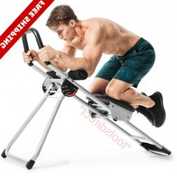 Ab Abdominal Exercise Machine Cruncher Trainer Fitness Body