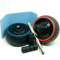 Ab Roller Wheel Abdominal Fitness Gym Exercise Equipment Cor