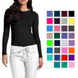 Adar Medical Workwear Uniform Women's Comfort Long Sleeve T-
