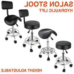 Adjustable Hydraulic Swivel Stool Salon SpaTattoo Chair Faci