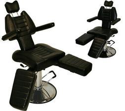 InkBed Adjustable Tattoo Reclining Hydraulic Ink Chair Salon