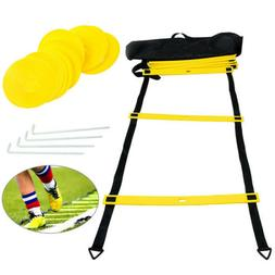 Agility Ladder and Cones Speed Training Equipment For Kids B