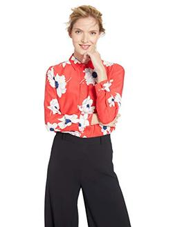 Equipment Women's Antiquity Floral Printed Leema Blouse, Blo