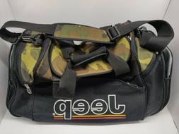 JEEP Authentic Equipment Camo Duffle Car Tool Bag Heavy Duty