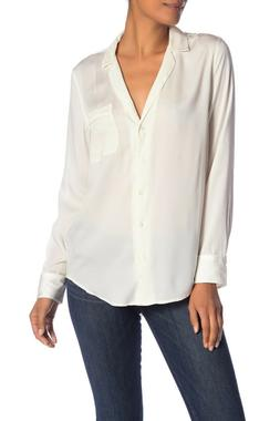 Authentic Equipment Keira Long Sleeve Button Shirt, Nature W